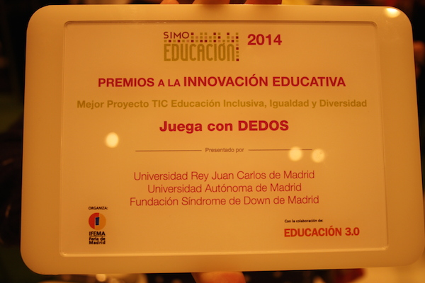Premio SIMO Educación 2014