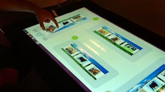Captura de la primera en la Surface 2.0